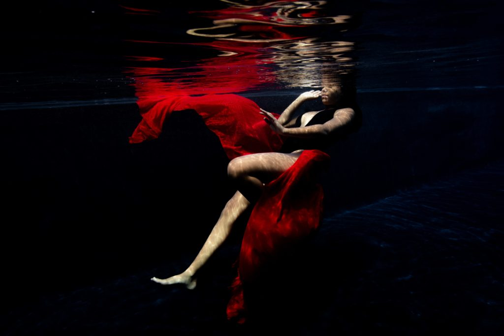 photographie portrait aquatique underwater ile réunion