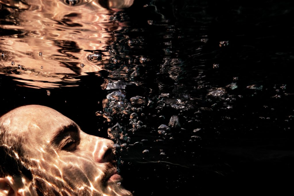 photographe portrait underwater