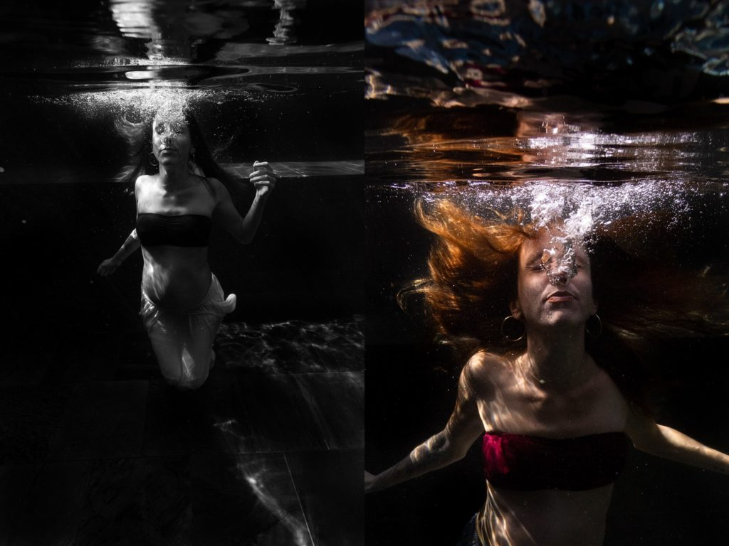 underwater pregnancy photographer