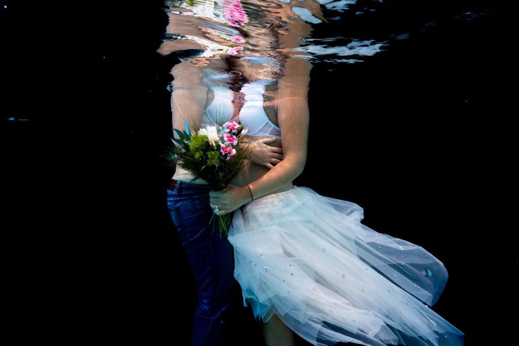 photographe underwater couple