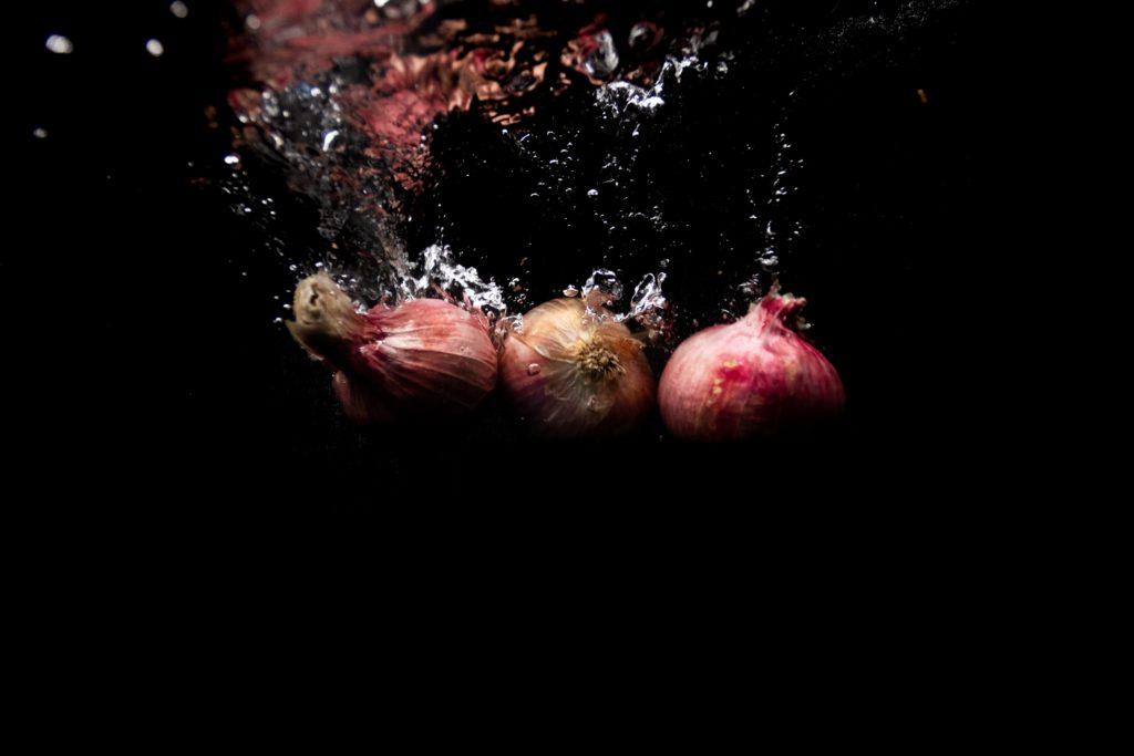 underwater fruit