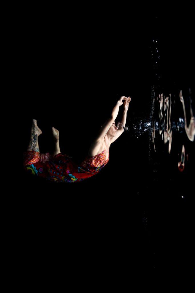 underwater portrait Charlotte Boiron
