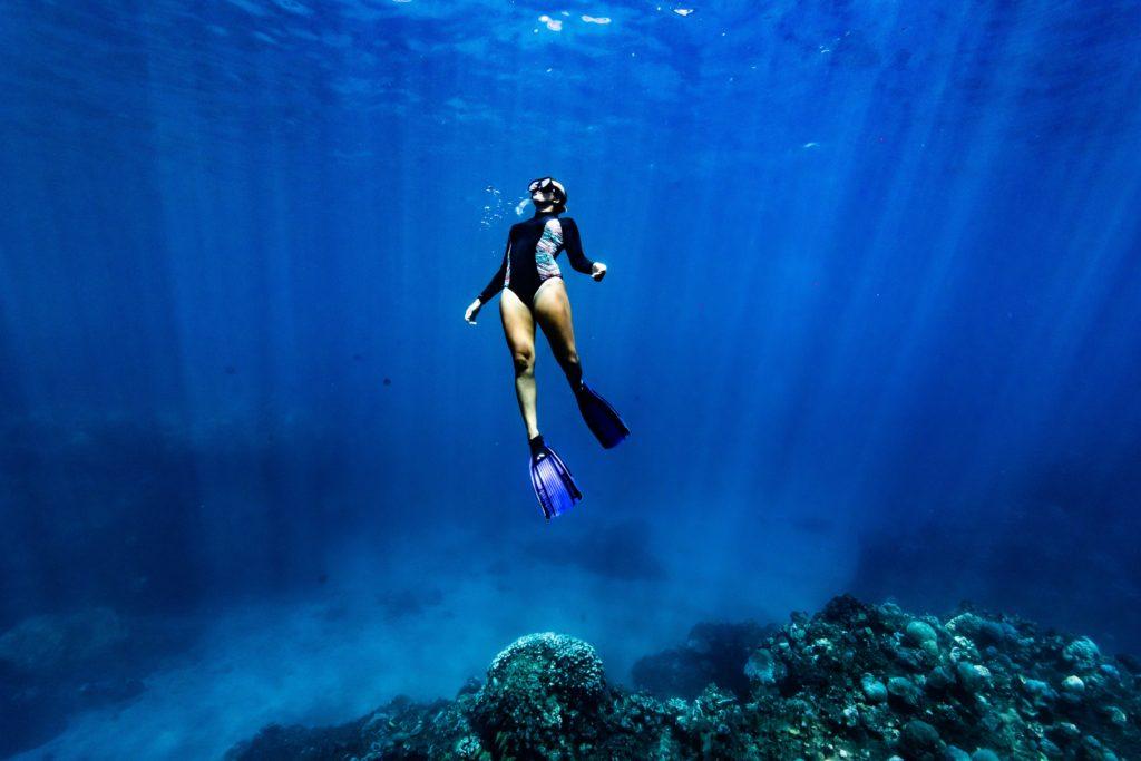 photographe portrait en mer