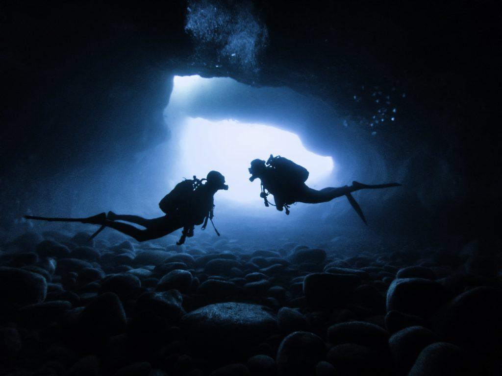 Grotte cap la houssaye